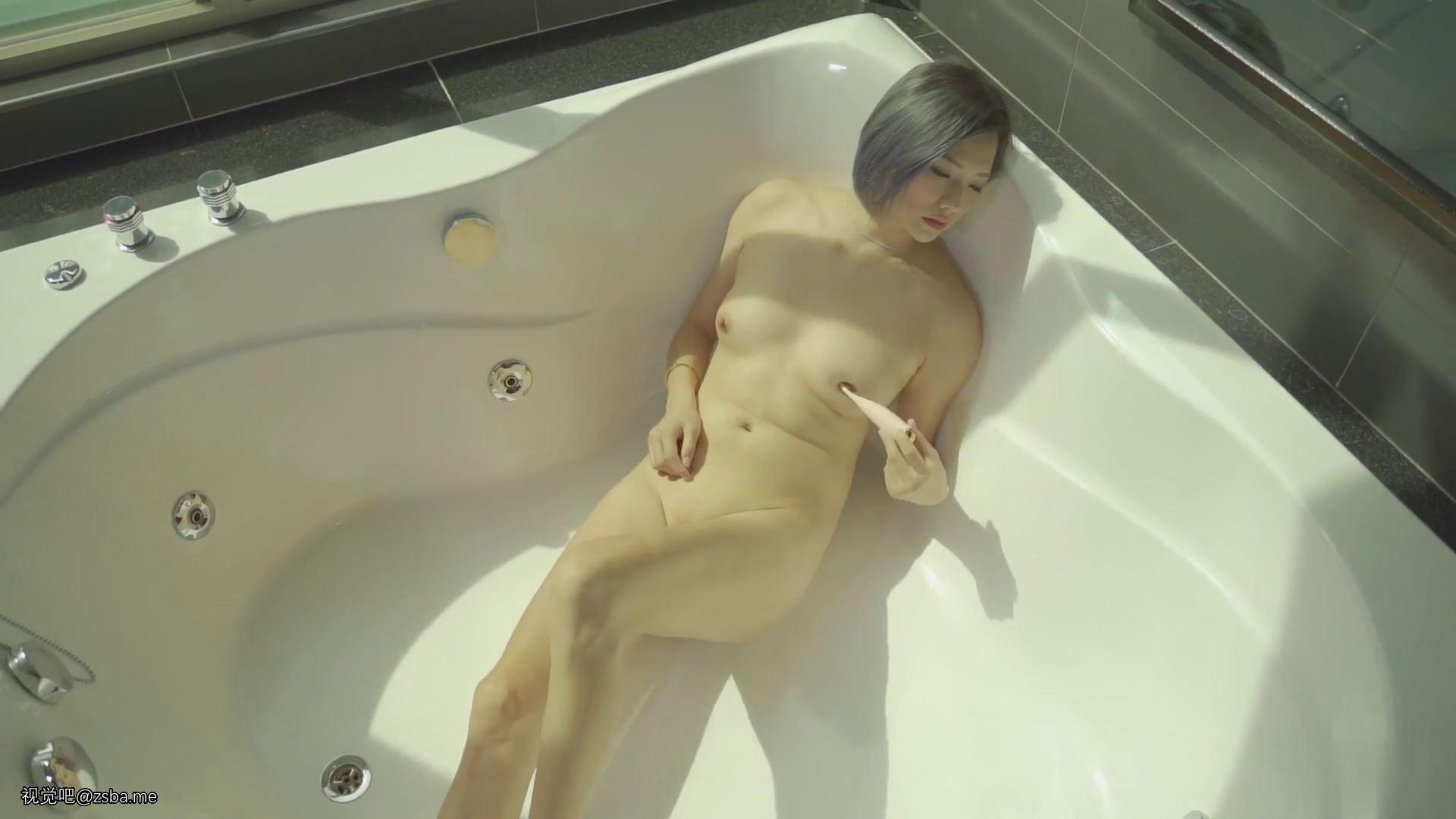 视觉吧@攝影大師大尺度私拍性感美女模特絲毫無法招架的感官過激[1V/427MB]插图7