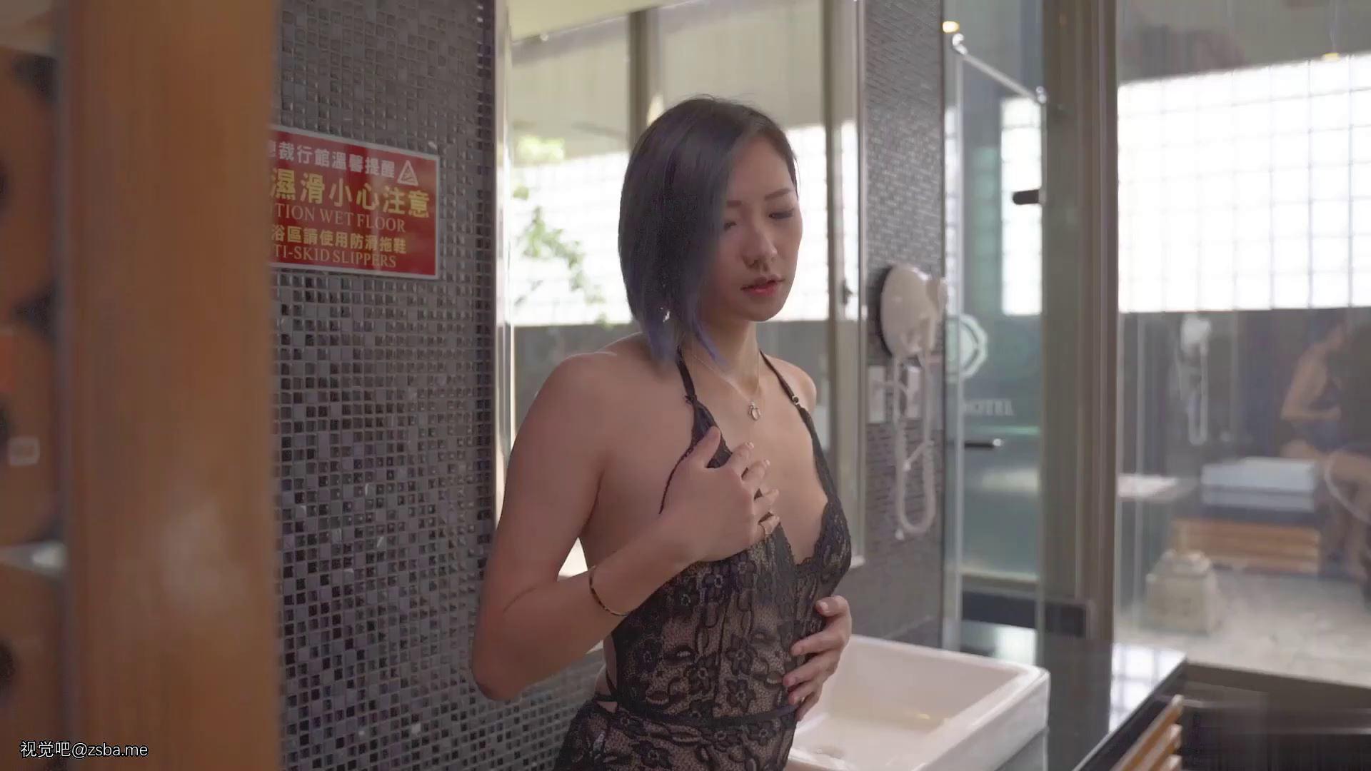 视觉吧@攝影大師大尺度私拍性感美女模特絲毫無法招架的感官過激[1V/427MB]插图1