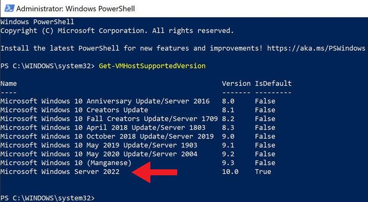 微软公布Windows Server 2022标准版与数据中心版GVLK KMS激活密钥