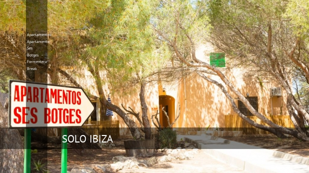 Apartamentos Apartamento Ses Botges - Formentera Break