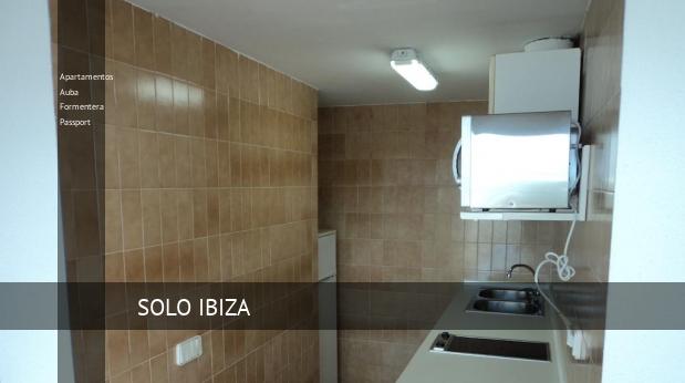 Apartamentos Auba Formentera Passport booking