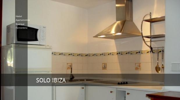 Hostal Apartamentos Boutique Formentera booking