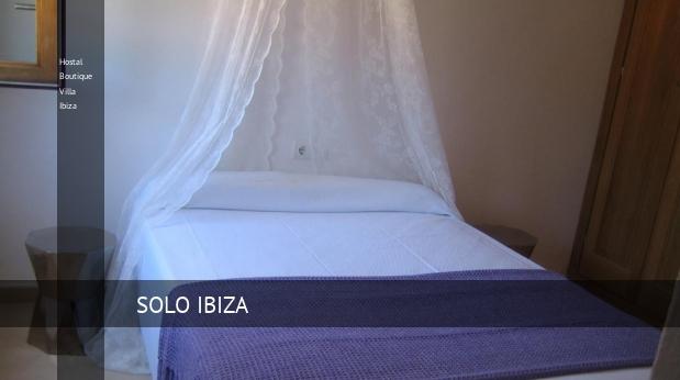 Hostal Boutique Villa Ibiza booking