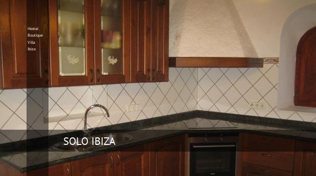 Hostal Boutique Villa Ibiza opiniones