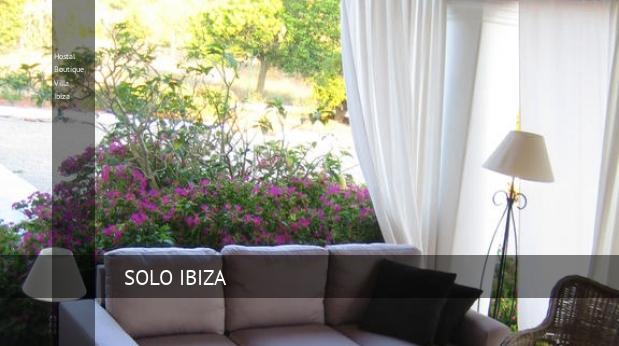 Hostal Boutique Villa Ibiza reverva