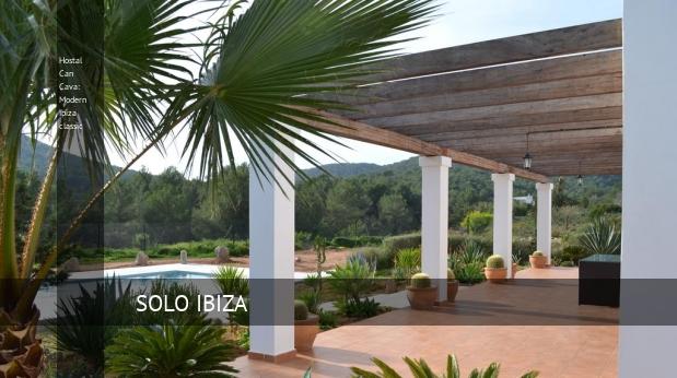 Hostal Can Cava: Modern Ibiza classic booking