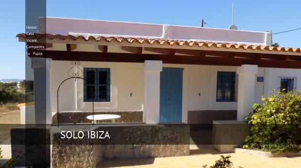 Hostal Casa Vicent Campanitx Es Pujols