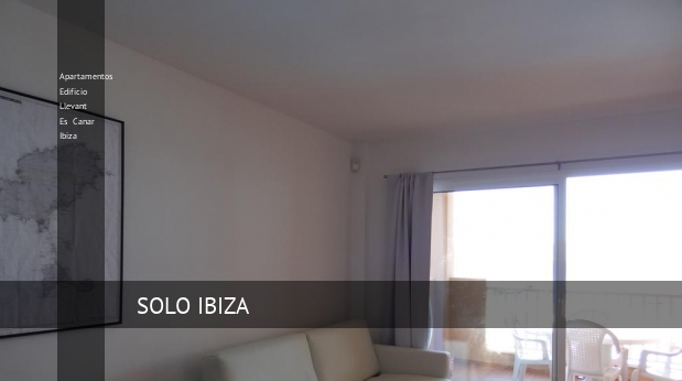 Apartamentos Edificio Llevant Es Canar Ibiza booking