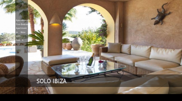 Apartamentos Five-Bedroom Apartment in Ibiza with Pool II opiniones