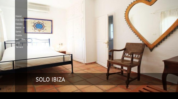 Hostal Five-Bedroom Holiday Home in Santa Eulalia del Río with Terrace opiniones