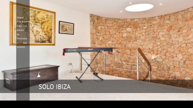 Hostal Five-Bedroom Villa in Antoni de Portmany / San Antonio