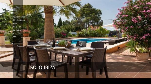 Apartamentos Five-Bedroom Villa in Josep de Sa Talaia / San Jose reverva