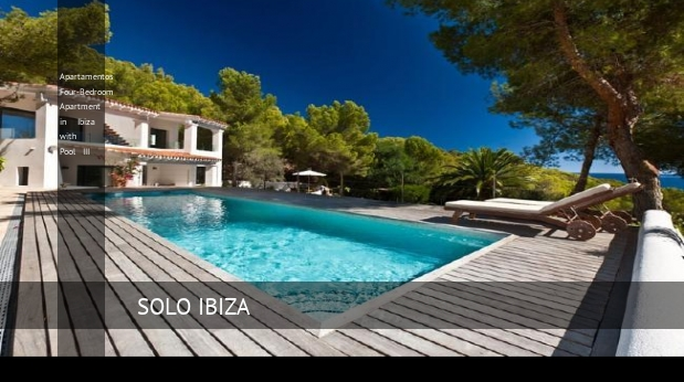 Apartamentos Four-Bedroom Apartment in Ibiza with Pool III