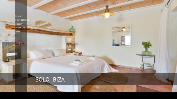 Hostal Four-Bedroom Holiday Home in Ibiza opiniones