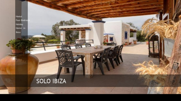 Hostal Four-Bedroom Holiday Home in Ibiza