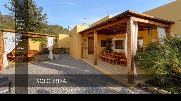 Apartamentos Four-Bedroom Holiday home in Sant Antoni de Portmany reverva