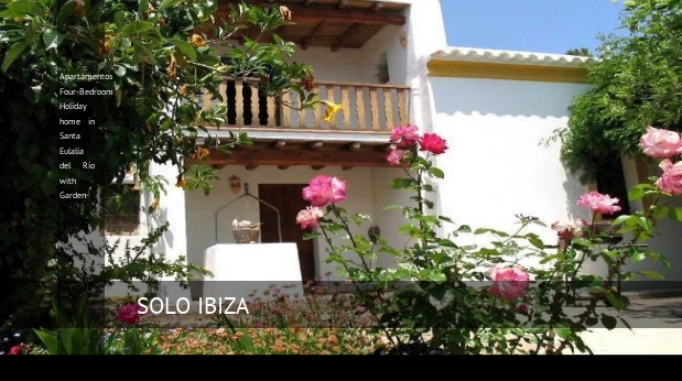 Apartamentos Four-Bedroom Holiday home in Santa Eulalia del Río with Garden opiniones