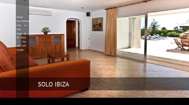 Hostal Four-Bedroom Villa in Sant Josep de Sa Talaia / San Jose with Garden opiniones