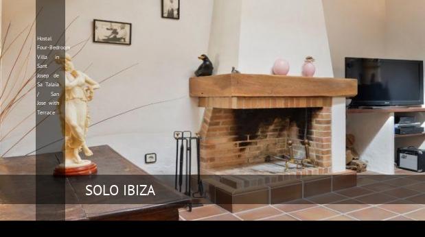 Hostal Four-Bedroom Villa in Sant Josep de Sa Talaia / San Jose with Terrace opiniones