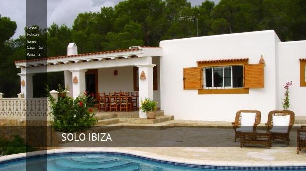 Hostal Holiday home Casa Sa Paisa 2 reverva