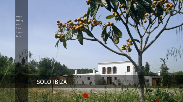 Hostal Holiday Villa Casa Calma Ibiza reverva