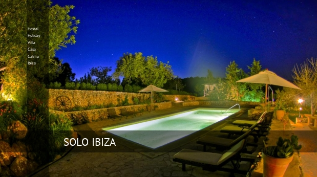 Hostal Holiday Villa Casa Calma Ibiza