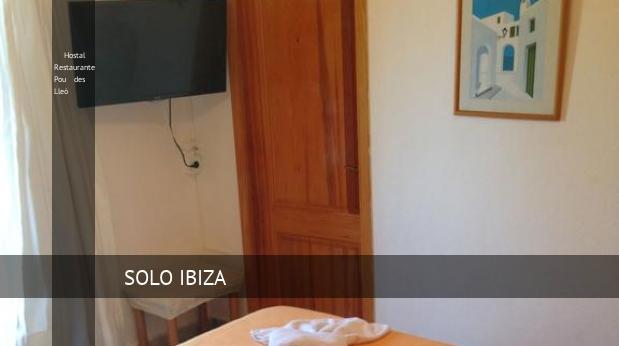 Hostal Restaurante Pou des Lleó reverva