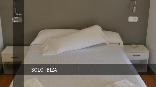 Hostal Ripoll Ibiza opiniones