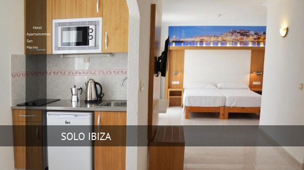 Hotel Apartamentos San Marino reverva