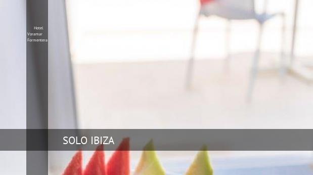 Hotel Voramar Formentera booking