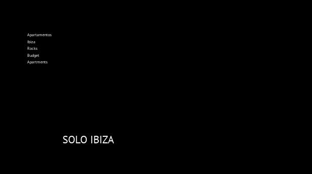 Apartamentos Ibiza Rocks Budget Apartments