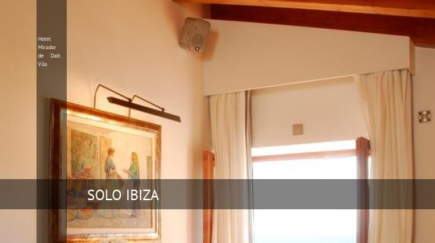 Hotel Mirador de Dalt Vila reverva