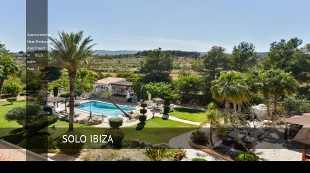 Apartamentos Nine-Bedroom Apartment in Ibiza with Pool I reverva