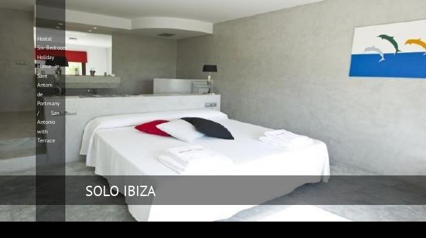Hostal Six-Bedroom Holiday Home in Sant Antoni de Portmany / San Antonio with Terrace opiniones