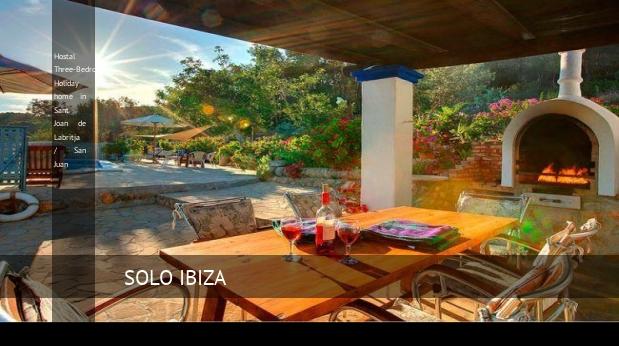 Hostal Three-Bedroom Holiday home in Sant Joan de Labritja / San Juan opiniones