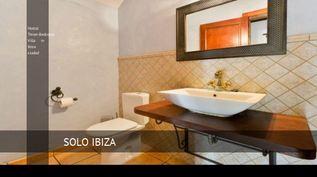Hostal Three-Bedroom Villa in Ibiza ciudad