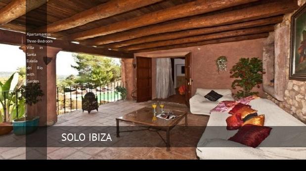 Apartamentos Three-Bedroom Villa in Santa Eulalia del Río with Garden