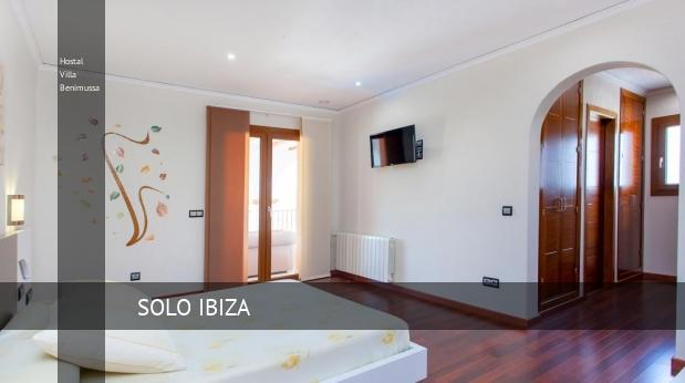 Hostal Villa Benimussa reverva