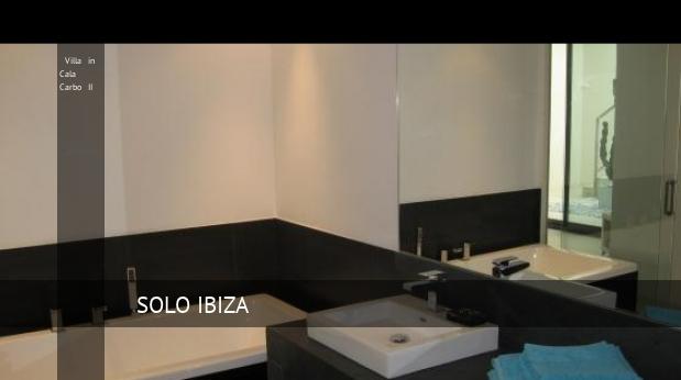 Villa in Cala Carbo II booking
