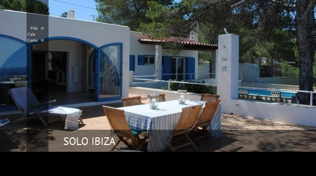 Villa in Cala Conta IV booking
