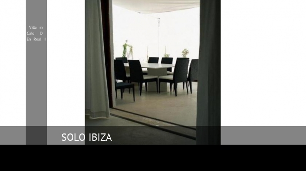 Villa in Calo D En Real I booking