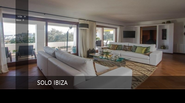 Villa in Ibiza II booking