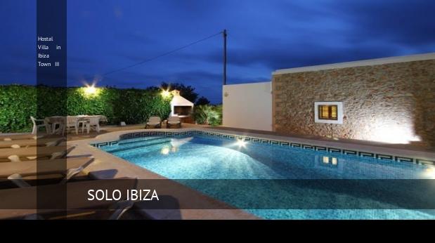 Hostal Villa in Ibiza Town III opiniones
