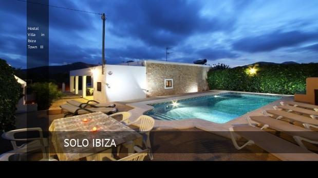 Hostal Villa in Ibiza Town III reverva
