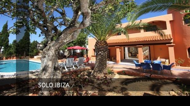 Villa in ibiza town v opiniones y reserva solo ibiza for Ciudad jardin ibiza