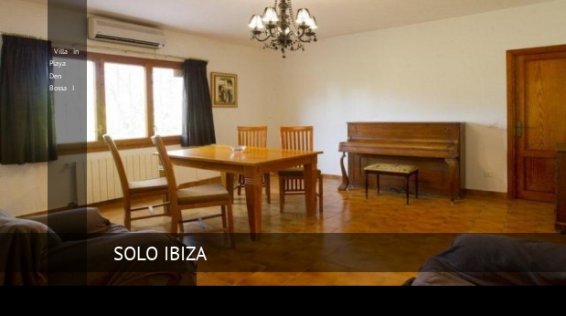 Villa in Playa Den Bossa I booking