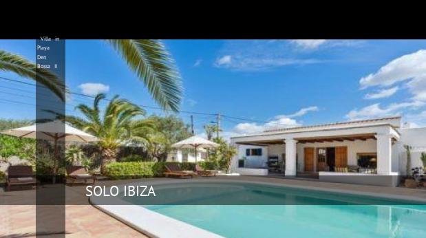 Villa in Playa Den Bossa II reverva