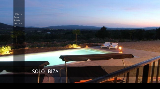 Villa in Santa Eulalia Del Rio IV opiniones
