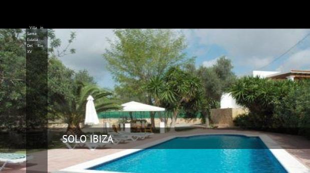 Villa in Santa Eulalia Del Rio XV reverva