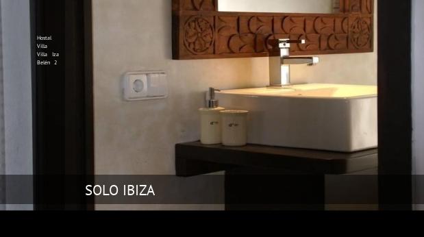 Hostal Villa Villa Iza Belén 2 reverva